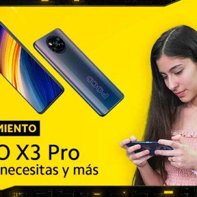 Este es el nuevo smartphone gamer: POCO X3 Pro