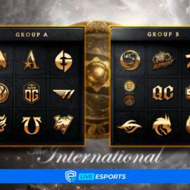 Conoce a los grupos, formato y horarios pactados de este The International 10