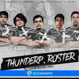 Thunder Predator anuncia su nuevo roster para la temporada Dota Pro Circuit 2021 – 2022